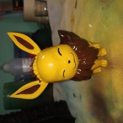 Download free STL file Eevee(Pokemon) • 3D print model, gishki555