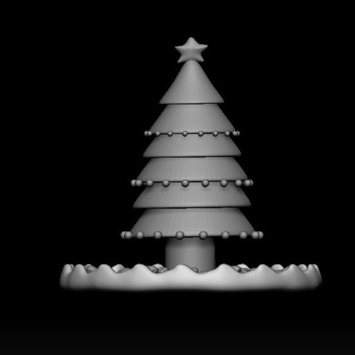 Télécharger fichier impression 3D L'arbre de Noël, WaKi