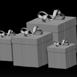 Descargar archivos 3D Regalo -  Christmas gift, WaKi