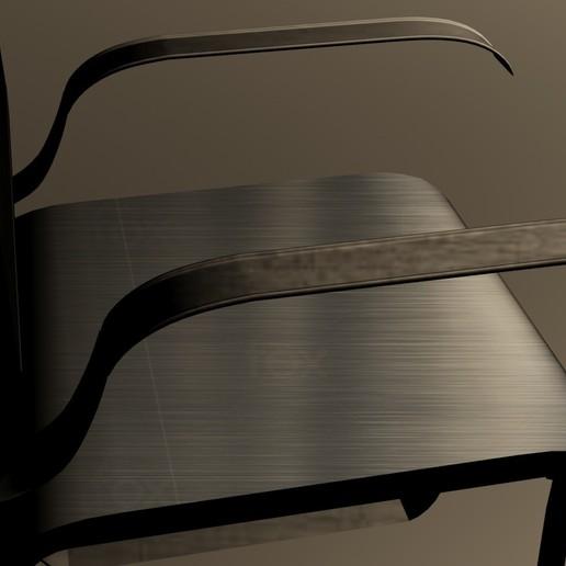 Download 3D printer model mettalic chair, sobhanzhd