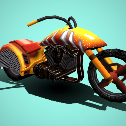 Download 3D model Audi Bike, anupatel1429