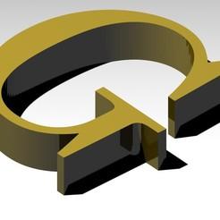 Télécharger fichier imprimante 3D gratuit Lettre G de l'alphabet (SANS SOUTIEN), Molina