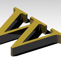 Télécharger fichier impression 3D gratuit Lettre W de l'alphabet (SANS SUPPORT), Molina