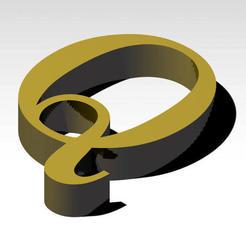 Télécharger fichier imprimante 3D gratuit Lettre Q de l'alphabet (PAS DE SUPPORT), Molina