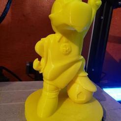 Download 3D model Cuauhtli Club America 80's Mascot, RaZzoRr_TECH