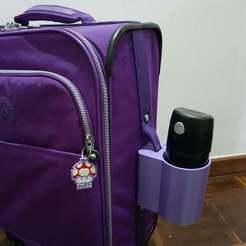20180204_101429teste.jpg Télécharger fichier STL gratuit Porte-gobelet pour bagages à main • Modèle pour imprimante 3D, joaolsneto