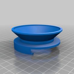 DosingRing.png Download free STL file Coffee Dosing Ring (Parametric - Fusion 360) • 3D printing design, joaolsneto