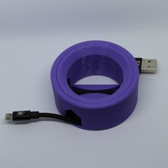 Download 3D printing models Cable Reel Print-in-Place (No Assembly or Supports are Required)., joaolsneto