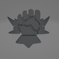 Thumb.png Download STL file Excoriators Space Marine Icon Moulded 'Hard Transfer' • Model to 3D print, Hyfryd