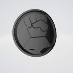 thumb f.png Download STL file Imperial Fists Space Marine Icon Moulded 'Hard Transfer' (Updated) • Design to 3D print, Hyfryd
