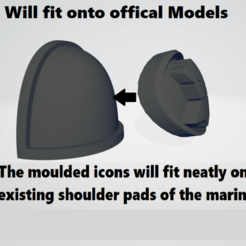instructions thumb.png Download STL file Silver Skulls Space Marine Icon Moulded 'Hard Transfer' • 3D printing template, Hyfryd