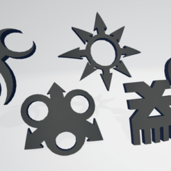 thumbo.png Download free STL file Chaos Space Marine God Icons Moulded Hard Transfers • 3D printable template, Hyfryd