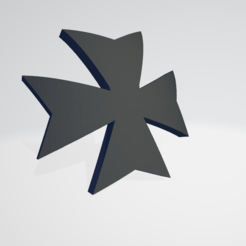 Thumb.png Download STL file Black Templars Space Marine Icon Moulded 'Hard Transfer' • 3D printing model, Hyfryd