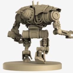 Descargar modelo 3D gratis Caos Diezmador Motor Daemon, Hyfryd