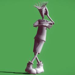 fido_dido_dance(1).png Download STL file Fido Dido Rigged  • 3D print model, danyelon