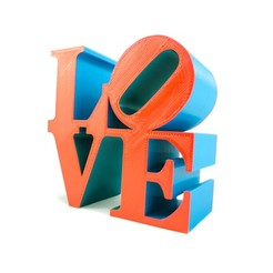 2019-06-26_-_Love_Statue_Border.jpg Download free 3MF file Philadelphia LOVE Statue/Sculpture by Robert Indiana • 3D printable design, pesmonde