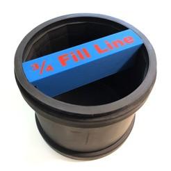 Descargar modelo 3D gratis Medidor de llenado de vaso de piedra para barril de goma de 3 libras, pesmonde