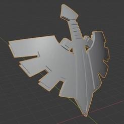 Télécharger fichier 3D gratuit Emblème des Dark Angels pour les épaules vierges, link03783