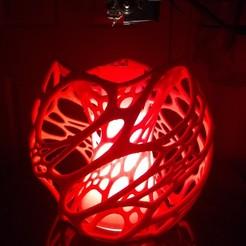 Download free STL file Cellular Lamp • 3D printer design, XtrudeLabs