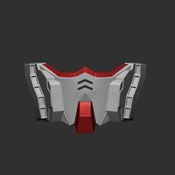 Descargar archivos STL Máscara Gundam - Fan Art, STLProject