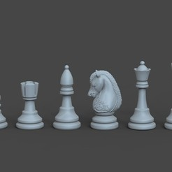 chess.jpg Download free OBJ file Chess • 3D printing model, STLProject