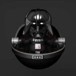 Download STL Baby Vader - Fan Art, genggi