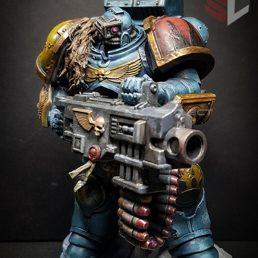 bolter10.jpg Download STL file Astartes with Heavy Bolter • Model to 3D print, STLProject