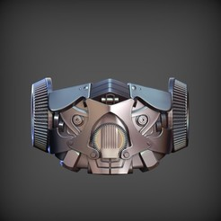 mask bumblebee 1.jpg Download STL file Bumblebee Face Mask - Fan Art • Object to 3D print, STLProject