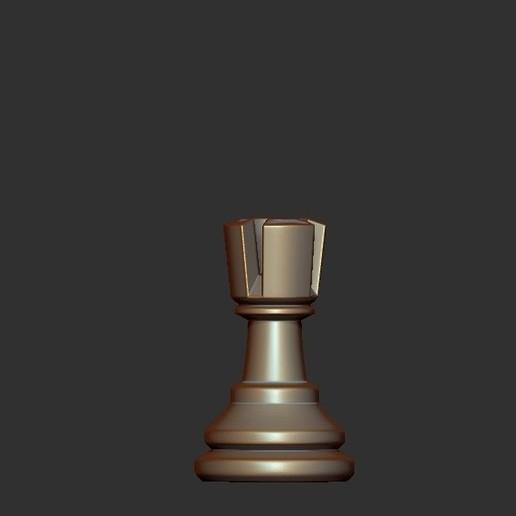 Rook.jpg Télécharger fichier OBJ gratuit Échecs • Modèle imprimable en 3D, STLProject