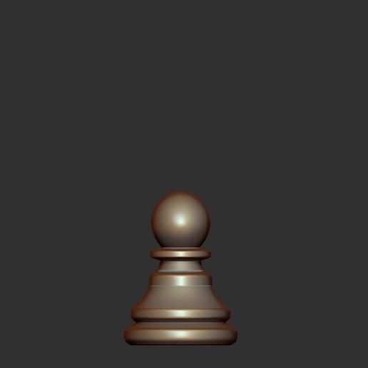 Pawn.jpg Télécharger fichier OBJ gratuit Échecs • Modèle imprimable en 3D, STLProject