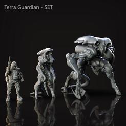 Télécharger fichier impression 3D Collection : Terra Guardian, genggi