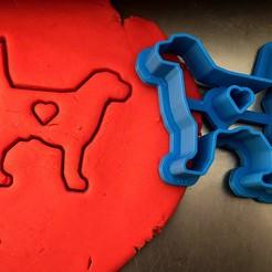 pes.jpg Download STL file Cookie cutter - Dog • 3D printable design, Tvoritko