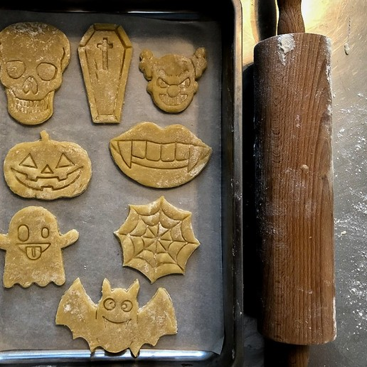 Download Stl File Halloween Cookie Cutters Set 13 Pcs 3d Printing Model Cults