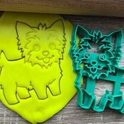 jork 2.jpg Download STL file Cookie cutter - Yorkshire Terrier 1 • 3D printing template, Tvoritko