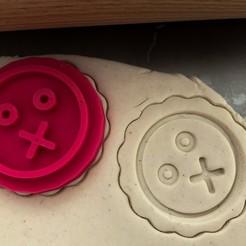 emoji 4.jpg Télécharger fichier STL Timbre à biscuit + cutter - Emoji 2 • Objet imprimable en 3D, Tvoritko