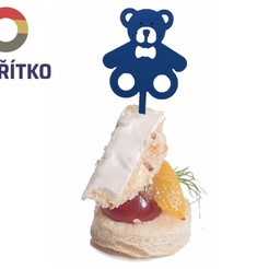 Download 3D printing models Cocktail stick - Canape - TEDDY BEAR, Tvoritko