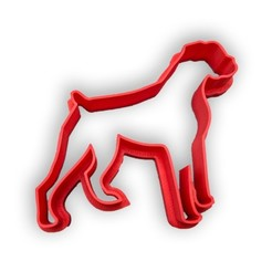 boxer.jpg Download STL file Dog cookie cutter Boxer • 3D printing design, Tvoritko