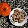 Download STL file Cookie stamp + cutter -  scary emoji • Model to 3D print, Tvoritko
