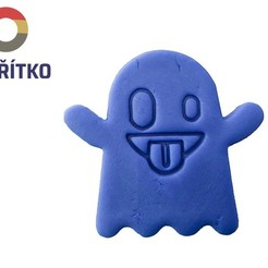 bubák.jpg Download STL file Cookie cutter - Ghost • 3D printable model, Tvoritko