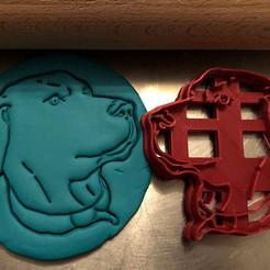catahoula 4.jpg Télécharger fichier STL Coupe-biscuit - Catahoula Chien léopard II • Modèle imprimable en 3D, Tvoritko