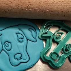 catahoula 3.jpg Télécharger fichier STL Coupe-biscuit - Catahoula Chien léopard I • Plan pour imprimante 3D, Tvoritko