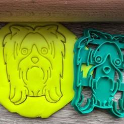 jork 3.jpg Download STL file Cookie cutter - Yorkshire Terrier 2 • 3D printable template, Tvoritko