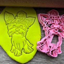 jork 5.jpg Download STL file Cookie cutter - Yorkshire Terrier 4 • 3D print object, Tvoritko