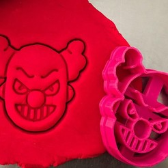 klaun.jpg Download STL file Cookie cutter - Clown • 3D printer model, Tvoritko