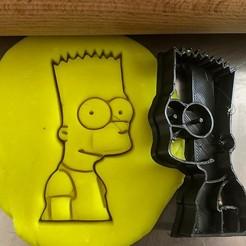 bart simpson.jpg Télécharger fichier STL Coupe-biscuits - Bart Simpson • Objet imprimable en 3D, Tvoritko