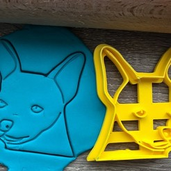čivava 3.jpg Download STL file Cookie cutter - Chihuahua I • 3D printable model, Tvoritko