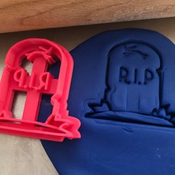 Rip .jpg Download STL file Cookie cutter - Rip • 3D print design, Tvoritko