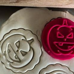 Download 3D print files Cookie stamp + cutter -  Pumpkin, Tvoritko