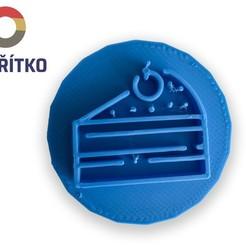 Download 3D printer model Cookie stamp + cutter -  Cake, Tvoritko