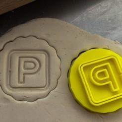 Download 3D printing templates Cookie stamp + cutter -  Parking, Tvoritko